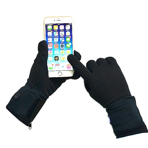 Screen touched Heated liner gloves