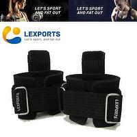 Exact Ease Grip Weight Lifting Straps With Wrist Supporter