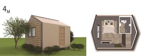 Rumah Mobile Cepat / Rumah kombinasi