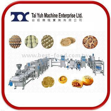 Taiwan Puff pastry making machine   TAI YUH MACHINE ENTERPRISE LTD