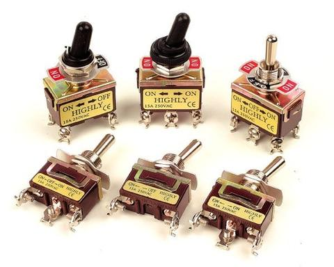T SERIES Toggle Switches
