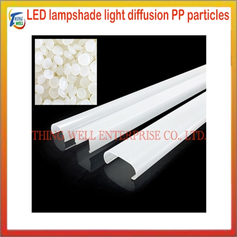 PP material for lampshade