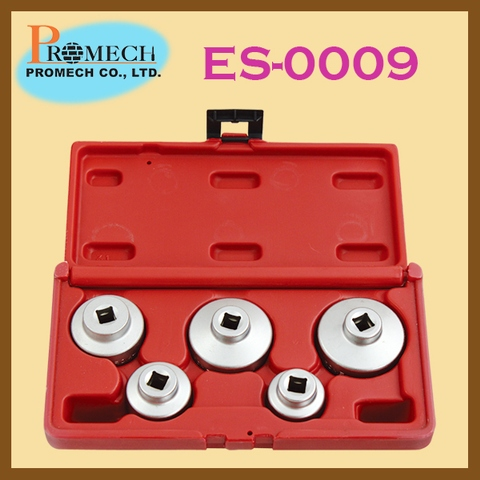 Taiwan Hot Selling 5 pc Oil Filter Cap Wrench Set