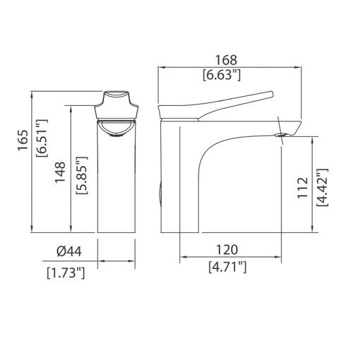 Single control Lav faucet