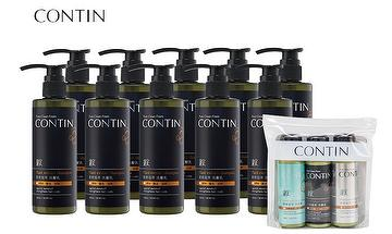 CONTIN ENZYME PLANT EXTRACT SHAMPOO 300ml*10+TRAVEL PACK