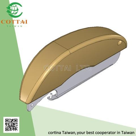 COTTAI roller blind mechanism fabric hold down strip blinds tools