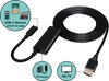 Type-C to HDMI w/ USB PD Converter Cable, 1.8M (UH312-180D)