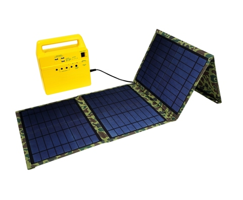 All-in-One Portable Solar Generator, Handy Solar System, solar power system, portable solar power systems