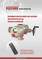 IT Series Multi turn intelligent electric actuator, Electric Motor