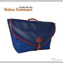 VASOLA - Laptop Handlebar Messenger Bag-Blue
