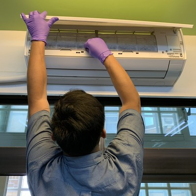 DIY safe air filter replacement with Silver Ti Ion