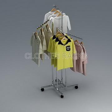 4-Arm Clothes Rack