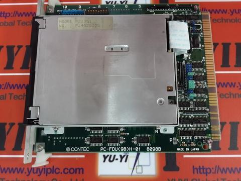 CONTEC PC-FDU(98)H-01 8098B & MODEL:FJ1351