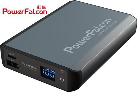 PowerFalcon 移动能量LG动力锂电源14000mAh双向独立同时快充45W