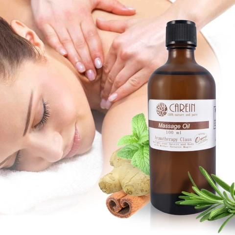 CAREIN Ginger & Birch Meridian Activating Massage Oil