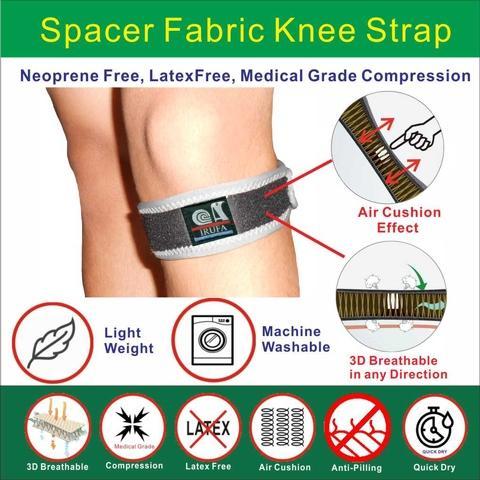 Wrap around Airtex  Airmesh Drytex   Knee Brace