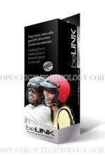 Wireless Bluetooth Headset for Motorcycle Bike Helmet (Model: beLINK H02i) (Company: OPUS High Technology) (Brand: beLINK)
