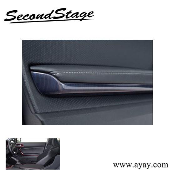 Taiwan Carbon Tone Car Interior Door Handle Panel Exporter