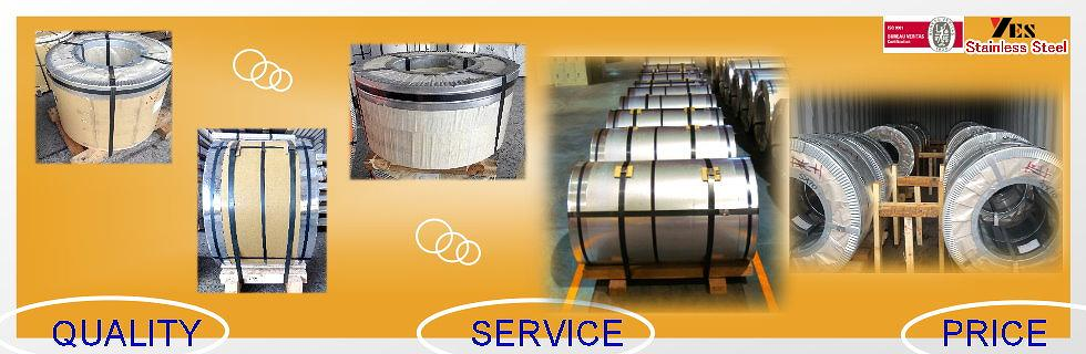 STAINLESS STEEL COIL TAIWAN CHINA 1.4016 BA-BRIGHT