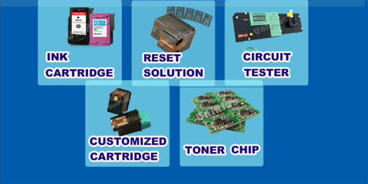 ink cartridge,toner chip,reset chip,tester,hp 45-product line