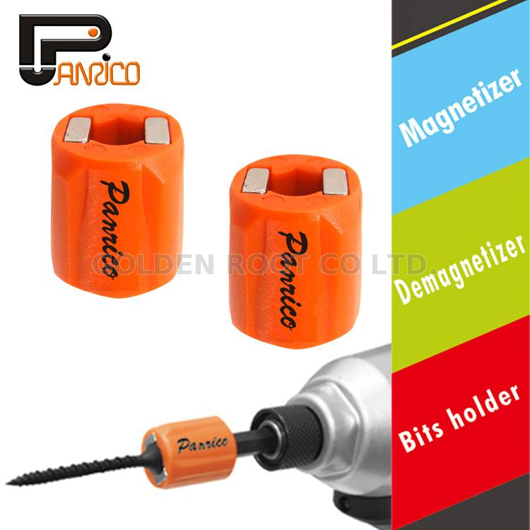 2IN1 Screwdriver Magnetic Tool Degausser Screw Bit Demagnetizer Batch R0X3