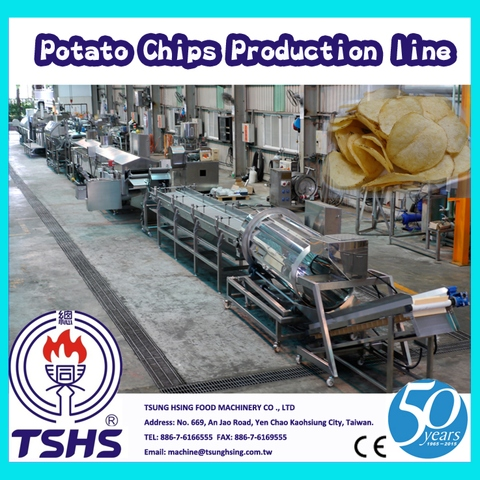 Hot Selling Industrie Integral Brittle Tapioca Chips Plant