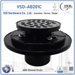 Plastic Shower Drain (ABS) for Tile Shower Base
