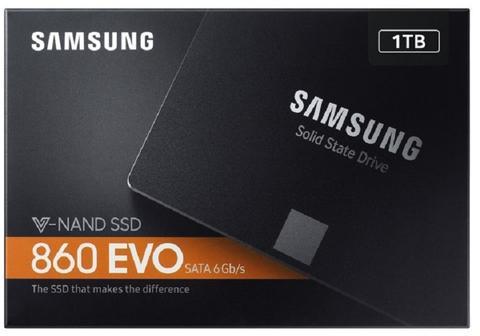 Samsung SSD 860 EVO Series 2.5