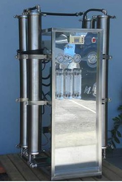 Luminary RO commercial system 1000 Liter per hour front view