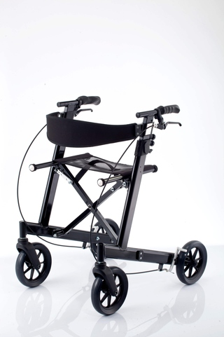 Incredible Folding Aluminum Rollator Walker With Seat Height Bralicious Painted Fabric Chair Ideas Braliciousco