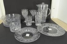 EMBOSSED FLOWER DESIGN DRINKING WARE