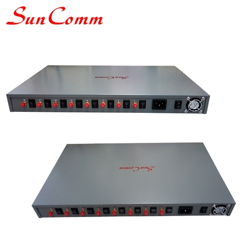 GSM Fixed Wireless Terminal with 8SIM, 8ports FXS, Quad band