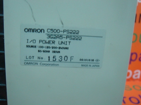 OMRON C500-PS222 / 3G2A5-PS222