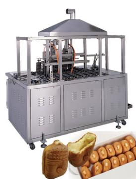 Cake with cream making machine