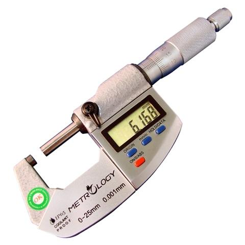 Digital Outside Micrometer (IP65)