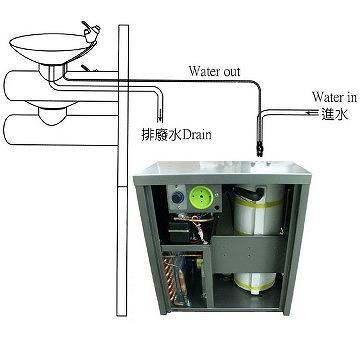 Taiwan Cooling system for wall mounted type drinking ...