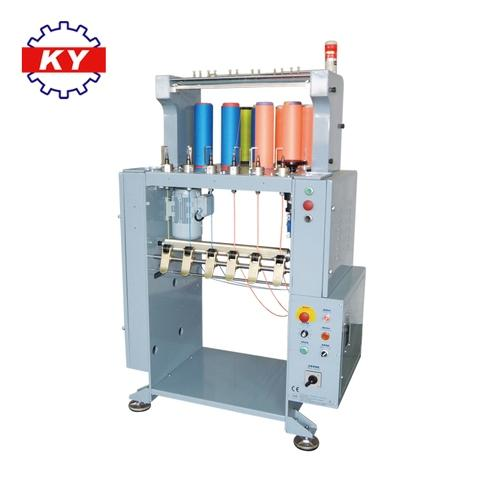 Kyang Yhe flat cord knitting machine with 6 cylinders