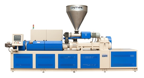 Twin Screw Extruder For Soft PVC Profile