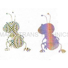 HOLOGRPHIC HOT STAMPING FOIL TRANSFER FILM-HOLOGRAPHIC/DESIGNS