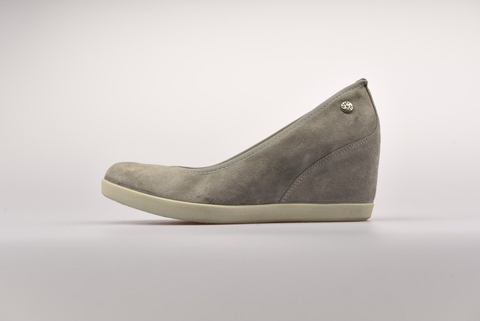 Italian simple anti-hair face wedge shoe