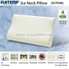 Pillow with Ice Cool Temperature Sensitive Foam Flotemp HCP50M