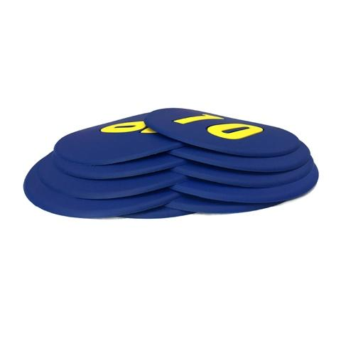1-10 number round mark mat