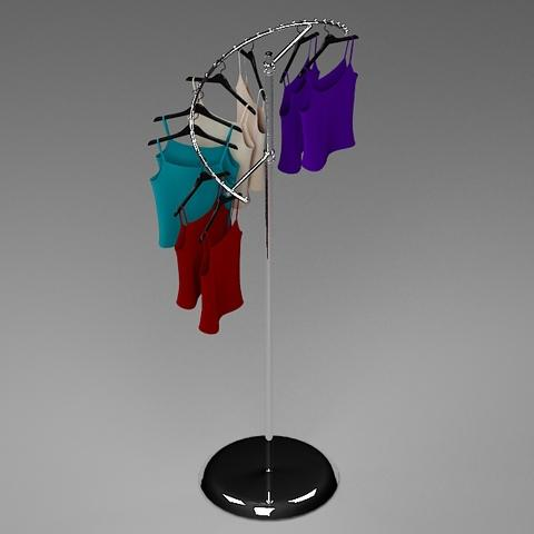 Spiral Clothes Rack