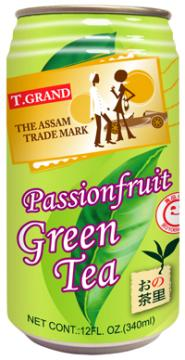 Assam Passionfruit Green Tea