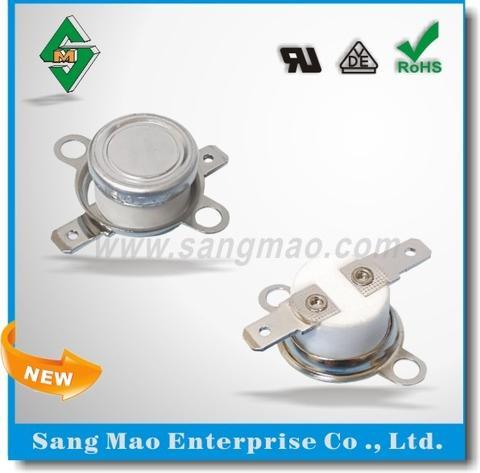 C4-021 陶瓷温控开关 温度保险丝 205度 自动常闭型
