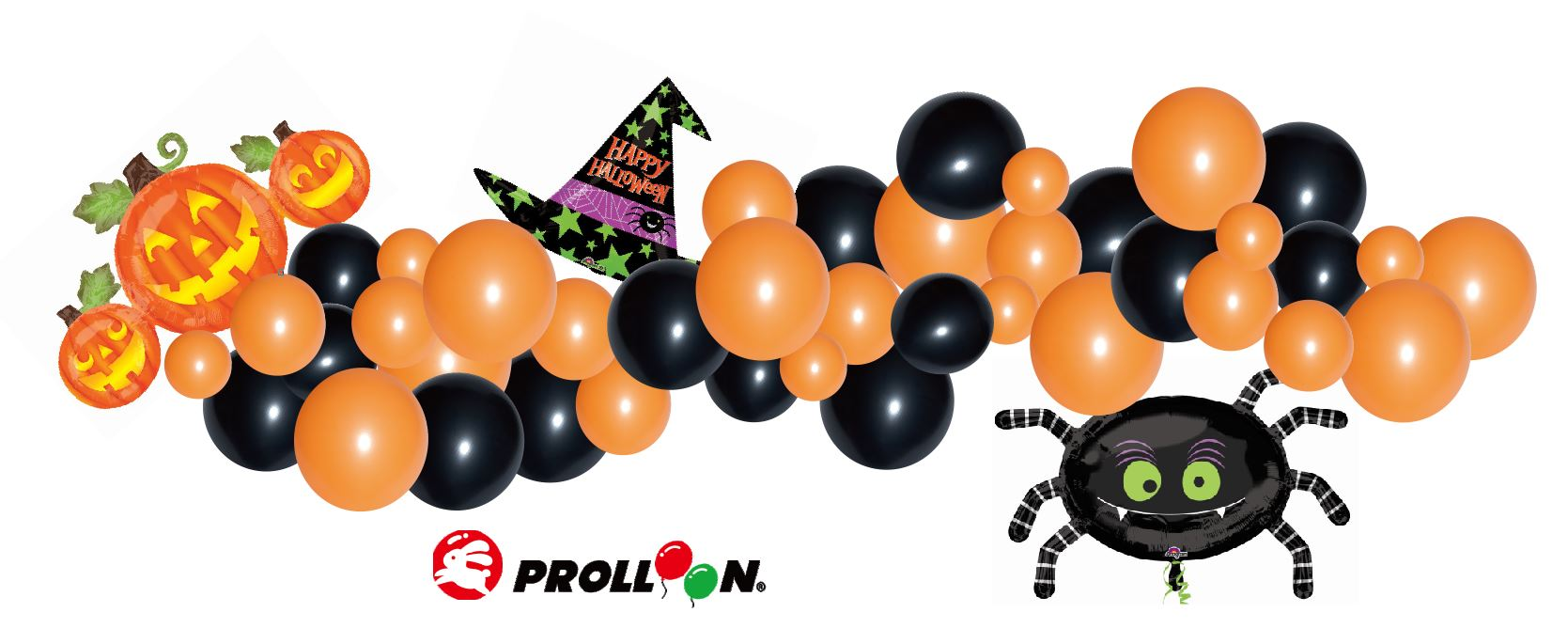 Balloon Garland Kit Halloween Party Themes Taiwantrade Com