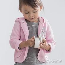 Baby girls knitted hooded Coat, Baby girls Cardigan