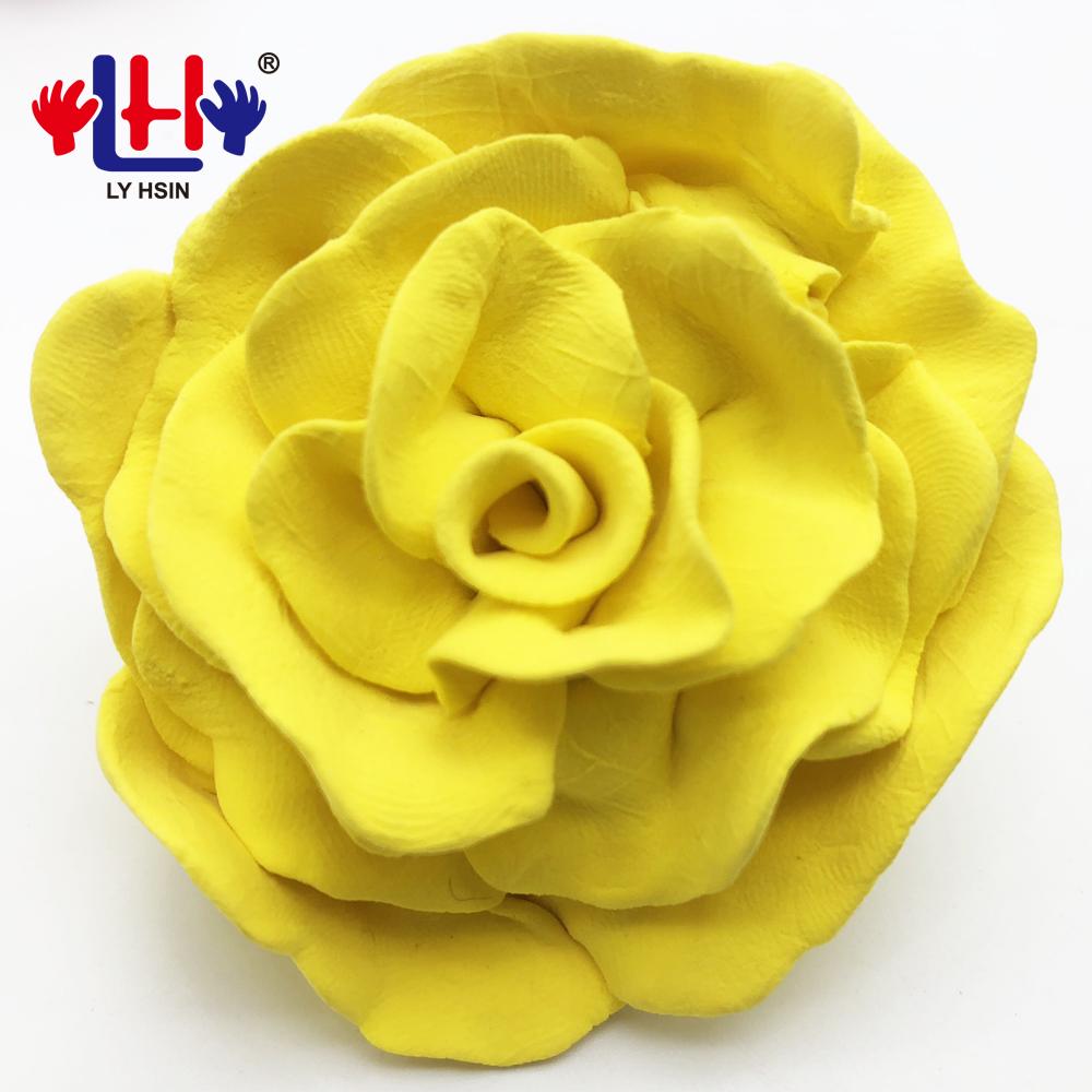 soft clay flower