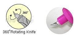 360° Rotaing Knife