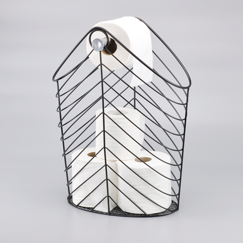 Kawat Logam Desain Toilet Roll Paper Holder Taiwantrade Com